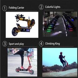 Skuter elektryczny 5000W Patinete Electrico Adulto E skuter elektryczny rower bateria litowa Samsung Hulajnoga Elektryczna Escooter 6