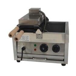 Komercyjna maszyna do spalania Snapper z trzema otworami Snapper spalanie elektryczna nieprzywierająca pięcioziarnista mała rybka maszyna do ciasta przekąska