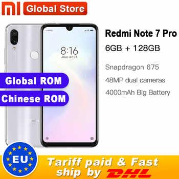 "Global ROM Xiaomi Redmi Note 7 Pro 128GB ROM 6GB RAM Telephone Snapdragon 675 Octa Core 6.3\"" Display 48+13MP 4000mAh QC 4.0 - SALE ITEM - Category 🛒 Cellphones & Telecommunications"