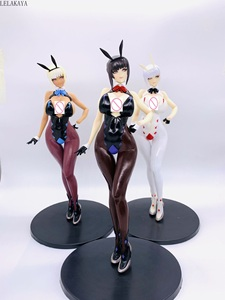 Image 1 - Anime 32cm Q Six Bunny Girls Izayoi Erika Soft body Sexy PVC Action Figure Collectible Model Toys Native T2 Art girl Tony Gift