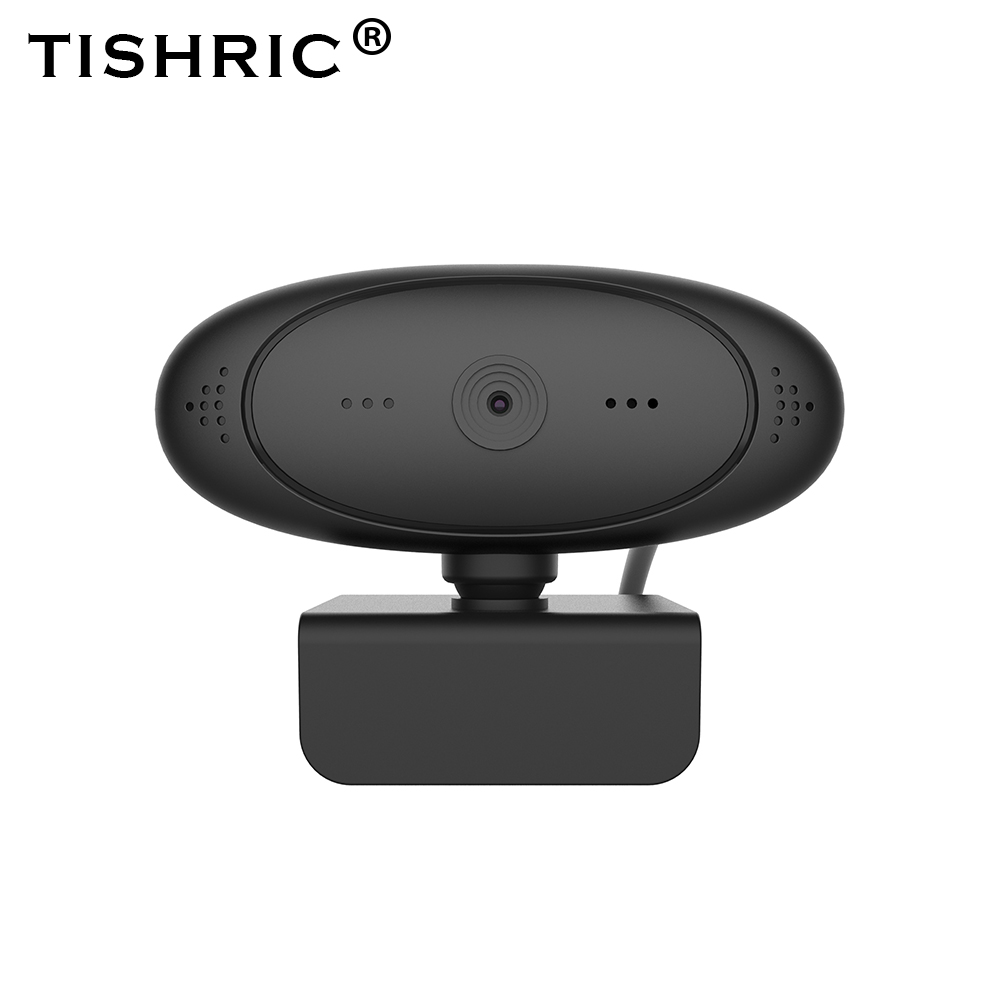 TISHRIC Webcam 1080p Autofocus Web Camera with Microphone HD Computer Camera for Webcast Network teaching Teleconferencing 1