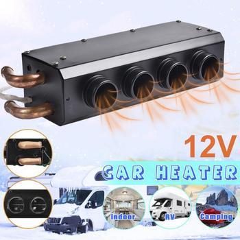 New Car Heater Car Electric Heating Defroster Windshield Electric Heater 12V For Heating Defrosting Defogging