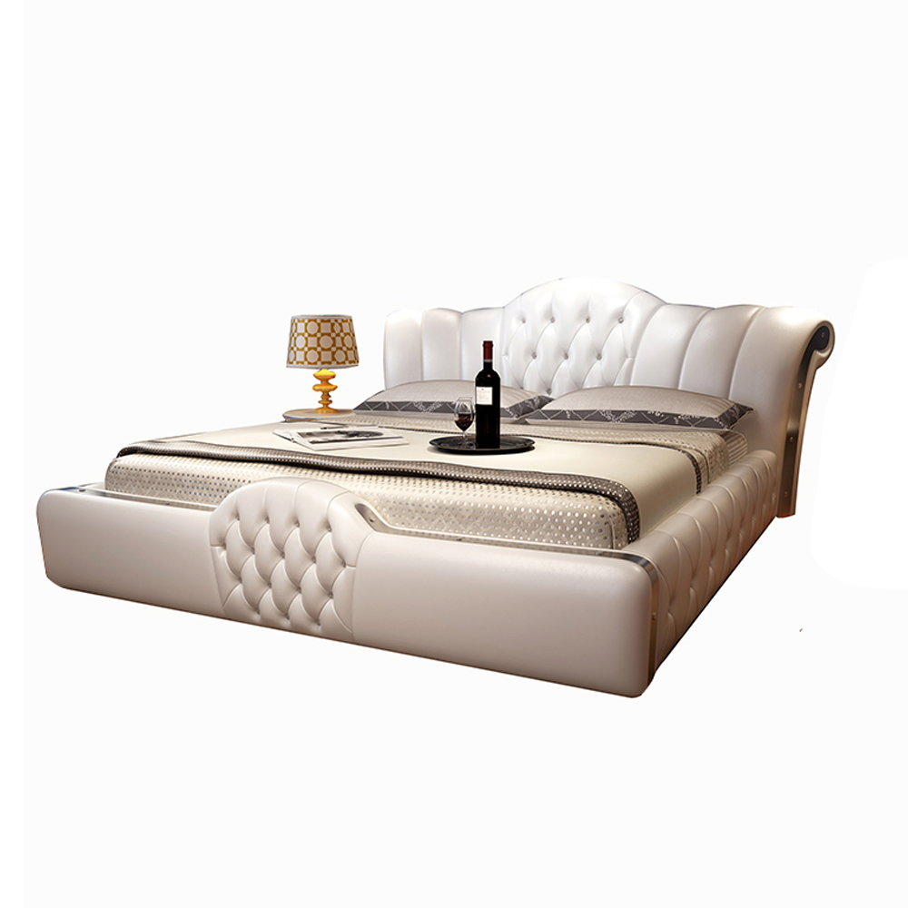 Smart Bed Frame Camas Bedroom Furniture кровать двуспальная Lit Beds سرير  Muebles De Dormitorio мебель Bedroom Set Cama De Casa