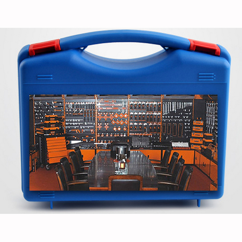 Plastic Tool Case Suitcase Toolbox With Pre-cut Foam Impact Resistant Safety Case Equipment Instrument Box Equipmet Car Kit Box