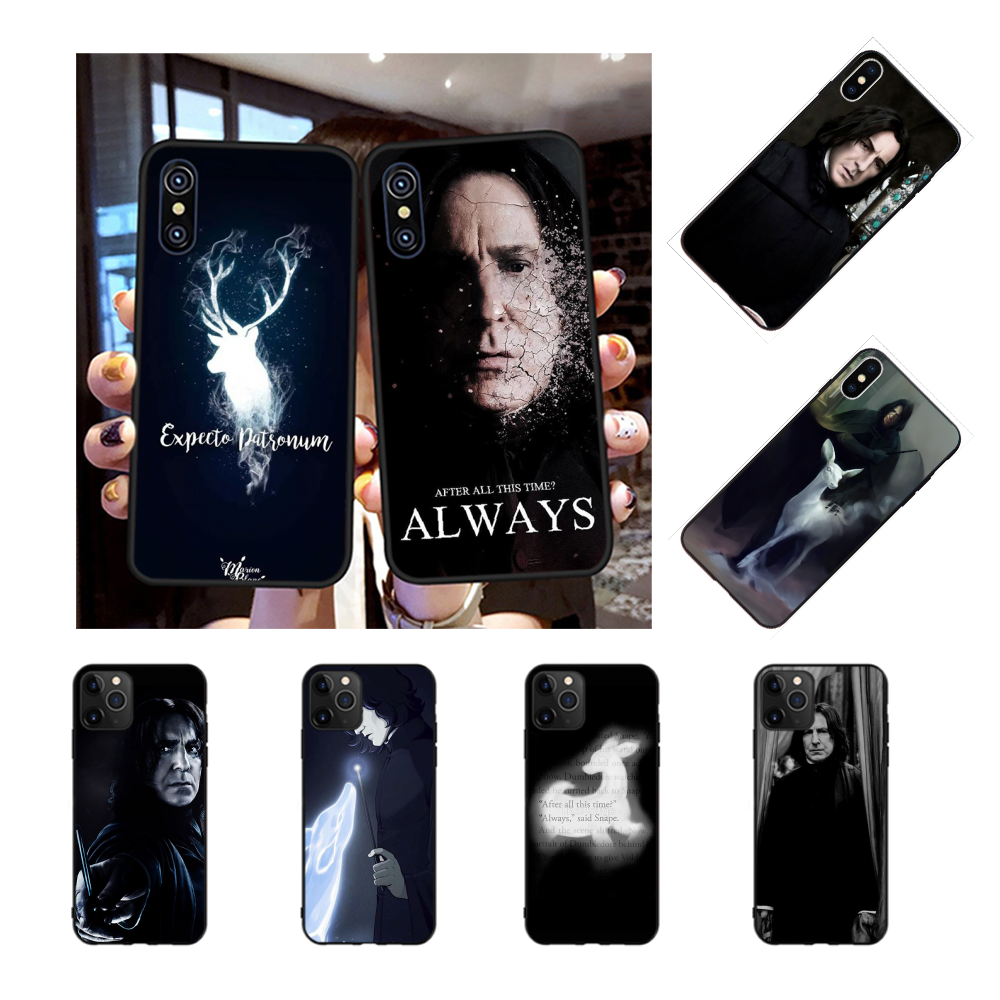 NBDRUICAI snape deer always DIY Luxury Phone Case for iPhone 11 pro XS MAX 8 7 6 6S Plus X 5S SE XR case
