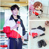 Xiao Zhan Idol Plush Doll Clothes Suit Puppet Star Puppet Casual Suit Doll Dress Up Star Peripheral Gift