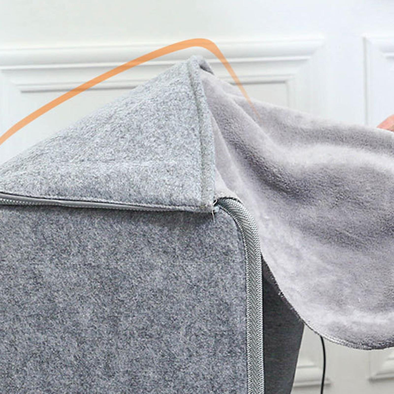 Almofada de inverno dobrável aquecedor portátil termostato