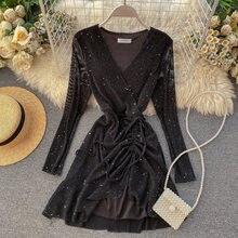 Ftlzz новые женские платья для женщин сезон: весна лето с длинным