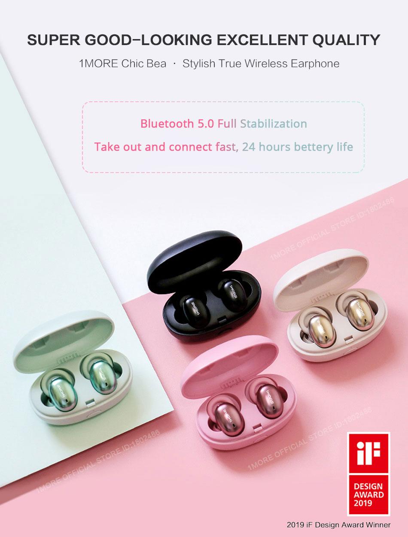1MORE Stylish true wireless headphones