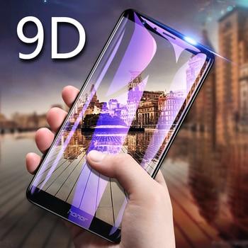 Перейти на Алиэкспресс и купить Полное покрытие из закаленного стекла для VIVO Y19 Y11 2019 Y9S Y7S Y12 Y3 Y85 Y91 S5 Z6 Z1 Pro V17 IQOO NEO 3 Защитная пленка для экрана