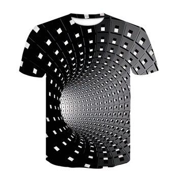 2020 Fashion Summer New Men T-shirt Dart Throwing Game Mode Tshirt 3D Printed Men/Women Leisure Short-sleeved T shirt