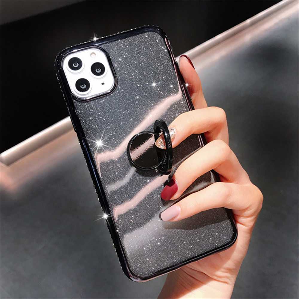 Jewelled Clear iPhone Case 6