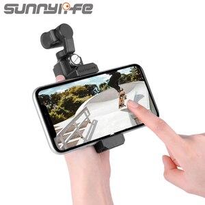 Image 2 - Новый держатель для телефона Sunnylife FIMI с ладонью, кронштейн для руки FIMI, ручной шарнирный держатель, аксессуары