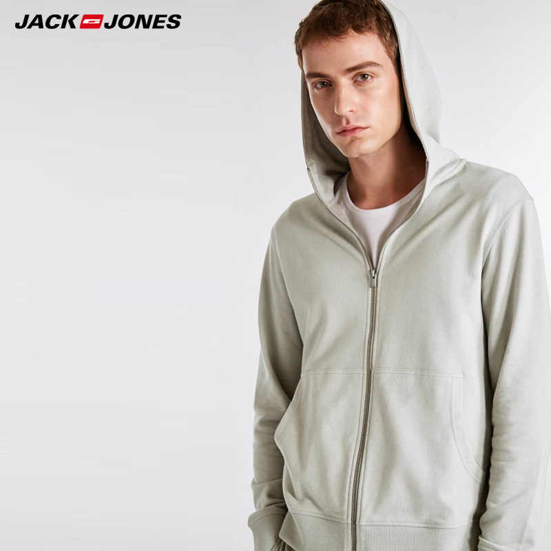 Jack Jones Nieuwe Mannen Hooded Casual Lange Jas Jas | 2183HE505