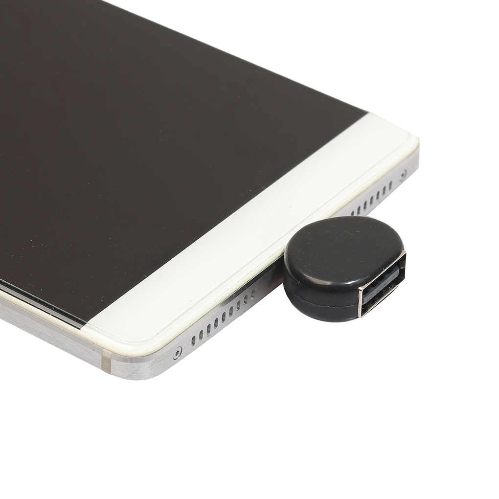 Pengganti untuk Android Smartphone Jantung Bentuk Micro USB untuk OTG Adaptor Ponsel Tablet PC untuk Flash Drive Mouse Converter