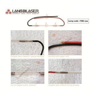 Image 4 - Lampe flash IPL britannique: 7*65 * 130F fil, lumière pulsée Intense (IPL), code de lampe F981, avec niveau de classe A +