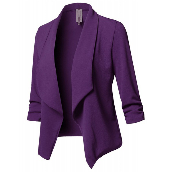 Blazer 5xl Oversized Blazer Women Elegante Ladies Mujer Office White Black Blue Green Pink Purple Plus Size Veste Blazer Femme