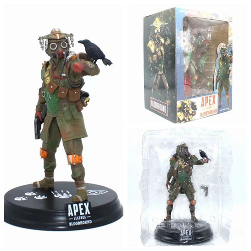 Hot Game Action Model <font><b>Toy</b></font> <font><b>Apex</b></font> Legends Wraith / Bloodhound PVC Collectible <font><b>Apex</b></font> Legends Figure 22cm image