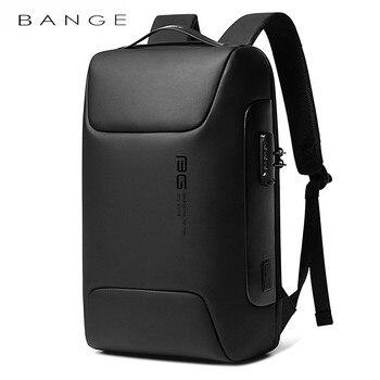 BANGE Новый Анти-Вор рюкзак подходит для 15,6 дюймов рюкзак для ноутбука Многофункциональный рюкзак водонепроницаемый для Бизнес сумки на плеч...