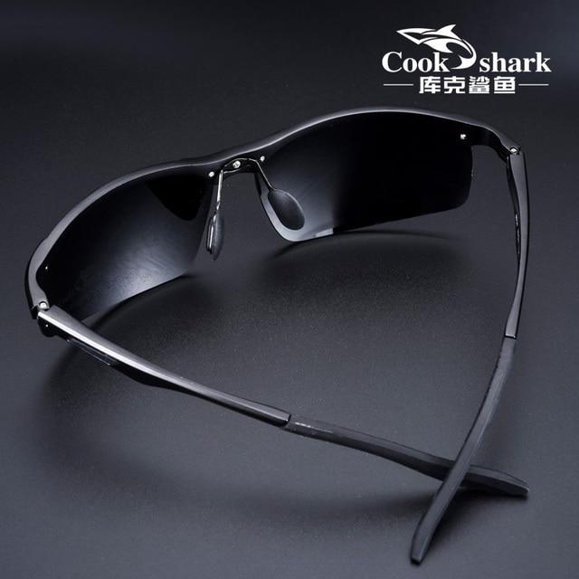 Gafas de sol de aluminio y magnesio para hombre, lentes de sol masculinas polarizadas HD, adecuadas para conducir, 2020 3