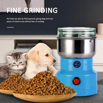 400ML Grains Spices Cereals Coffee Dry Food Electric Grinder Mill Grinding Machine Gristmill Home Medicine Flour Powder Crusher image