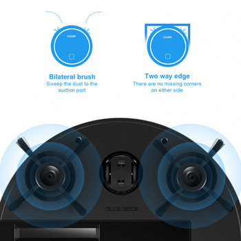 Robot Vacuum Cleaner Strong Suction Sweeping Machine Wifi Connectivity Self-Charging App Remote Control Mop  4 Mode Hard Floors