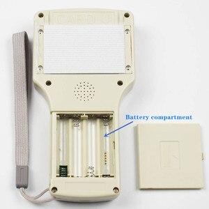 Image 2 - 10 anglais fréquence RFID copieur duplicateur 125KHz porte clés NFC lecteur écrivain 13.56MHz crypté programmeur USB UID copie carte étiquette