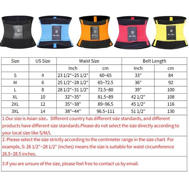 Mens Waist Trainer Abdomen Slimming Body Shaper Belly Shapers Modeling Belt Weight Loss Shapewear Sweat Girdle Slim Trimmer Belt 5