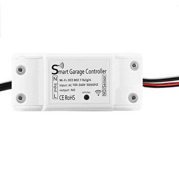 Smart WiFi Garage Door Opener Remote Controller App Control Timer/Schedule Garage Controller EU/US/UK Plug фото