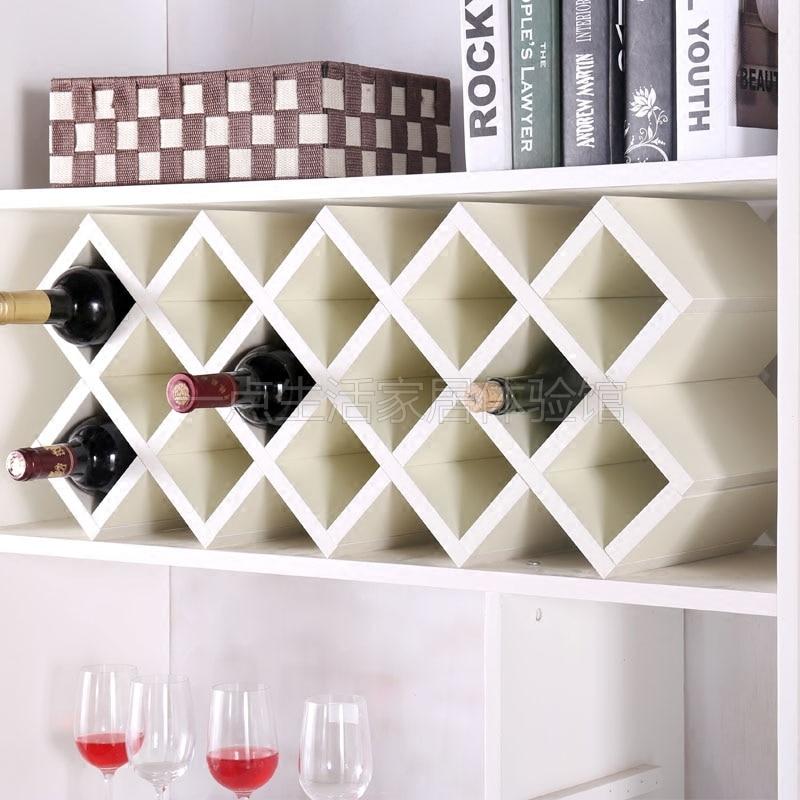Wall Mounted Wine Rack European Cabinet