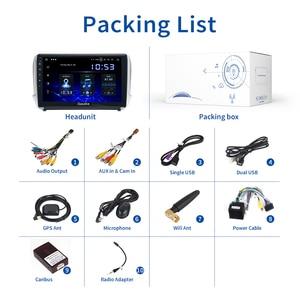 "Image 5 - Dasaita 10.2"" Android 10 Car GPS Player for Peugeot 208&2008 2012 2016 with Octa Core 4GB Ram Auto Radio Multimedia GPS NAVI 4G"