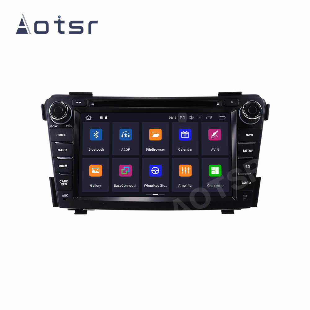 "AOTSR Mobil Player 2 Din Android 10 Untuk HYUNDAI I40 2011 - 2016 Mobil Auto Radio GPS Navigasi DSP Autostereo 7 ""Multimedia Unit"
