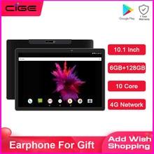 Global 10.1 Polegada tablet pc 10 núcleo android 8.0 mtk6797 ram 6gb rom 128gb 1920x1200 ips 4g telefone chamada dupla cartão wi-fi comprimidos 10
