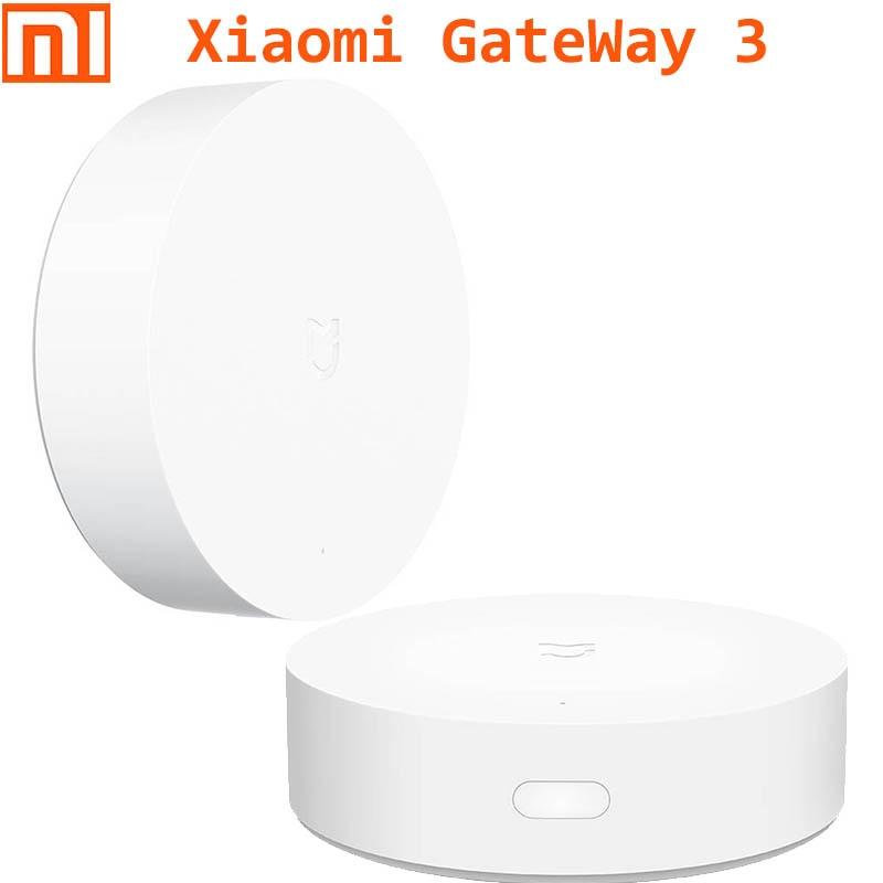 Xiaomi Smart Home Multi function Gate way 3  functional GateWay 3 Alarm System Socket (zigbee) Temperature Door Sensor Phone APP|app|app phoneapp alarm - AliExpress