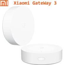 Xiaomi casa inteligente multifunção portão, way 3 gateway funcional 3 sistema de alarme soquete (zigbee) aplicativo de telefone com sensor de temperatura