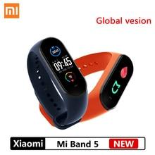 Smart Bracelet Mi-Band Xiaomi Global-Version Fitness-Tracker Heart-Rate Bluetooth 5 Waterproof