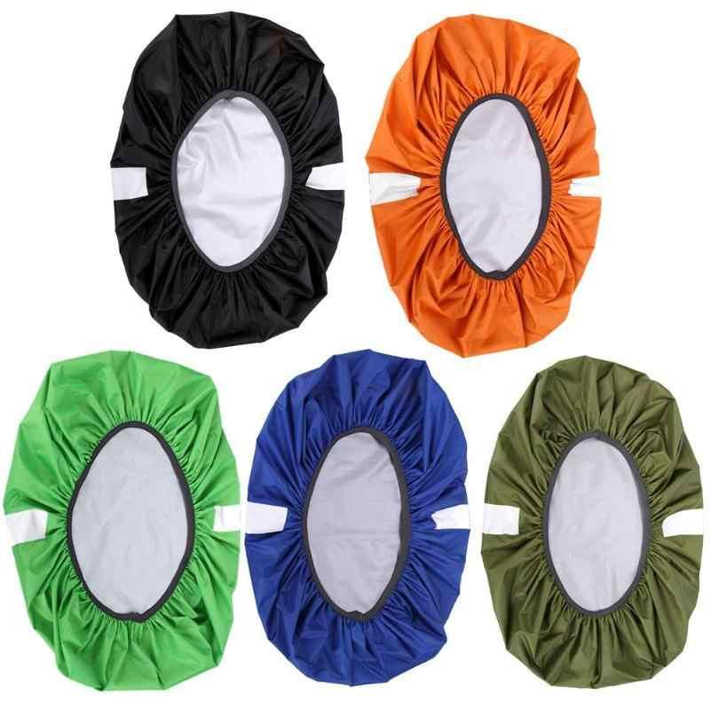 Einstellbar Wasserdicht Staubdicht Rucksack Tasche Reflektierende Staub Regen Abdeckung
