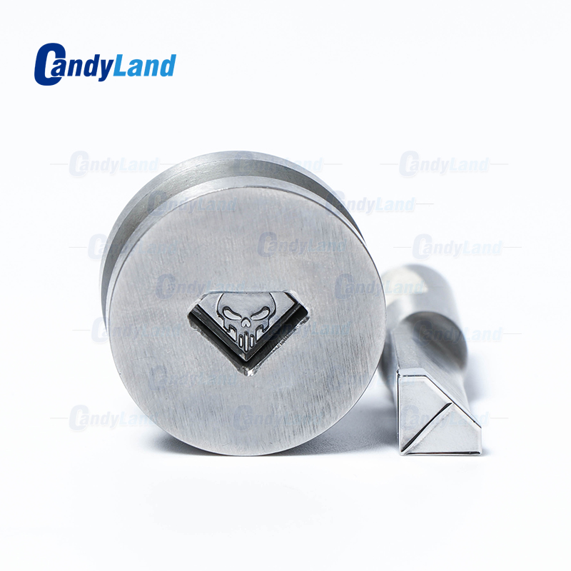 CandyLand Skull Tablet Die Pill Press Die Candy Punch Die Set Custom Logo Punch Die Cast Pill Press For Tablet TDP Machine