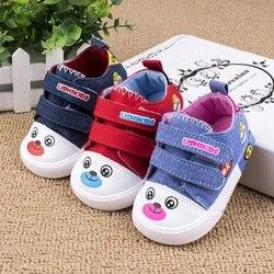 Zapatos de oso de dibujos animados de bebé primer andador suela suave inferior zapatos antideslizantes al aire libre niños zapatillas Niño niña Multicolor zapatos