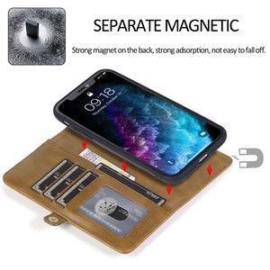 Image 4 - KISSCASE için manyetik deri cüzdan kılıfı iPhone 11 Pro Max 7 8 6 6S artı telefon tutucu iPhone XS Max XR X PU Retro çanta