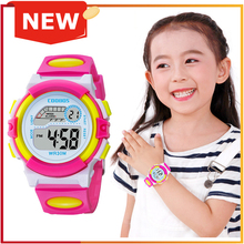 Romantic Pink Girls Watches Elegant Woman Clocks Clearly Sho