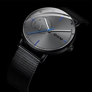 Image 2 - Mensนาฬิกากันน้ำหนังสายคล้องคอควอตซ์Casual Mensนาฬิกาข้อมือนาฬิกาแบรนด์ชายนาฬิกา 2019 แฟชั่น