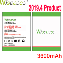 WISECOCO 3600mAh Battery For BQ BQS 5500L BQS-5500L ADVANCE Mobile Phone In Stock Latest Production With Tracking Number
