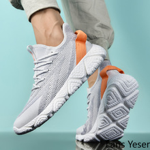 Men Running Shoes Summer Mesh Breathable Sneakers Lightweight Man Sports Shoes Light Walking Jogging Shoes 350 Boost Disruptor fashion flyknitting summer men sports shoes colorful letter decor running jogging shoes breathable mesh upper sneakers