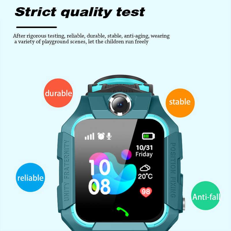 أطفال بلوتوث ساعة ذكية LBS الساعات الذكية ساعة دعوة الطفل للأطفال مكتشف الموقع تعقب مكافحة خسر رصد طفل هدية + صندوق
