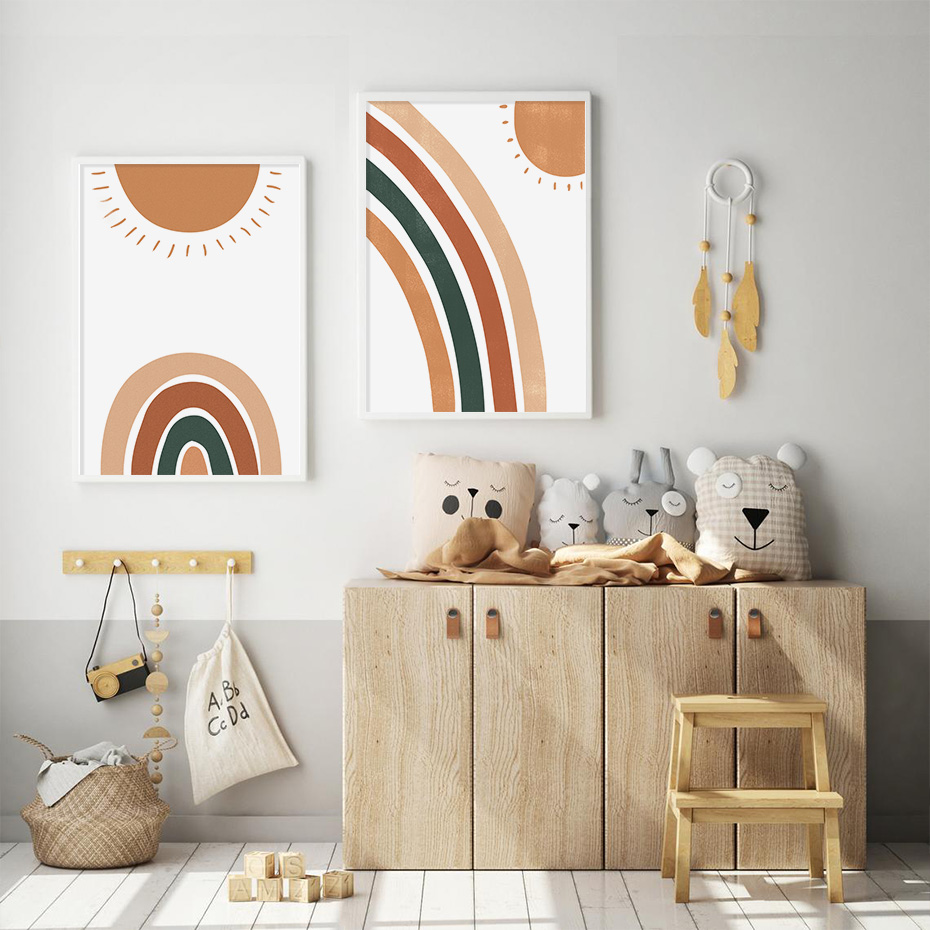 Trendy-Boho-Rainbow-Sun-Nursery-Baby-Decor-Canvas-Painting-Pictures-Wall-Art-Posters-Prints-for-Kids (2)