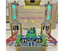 Driver de baixa tensão 6e2 de canal duplo, kits de driver de tubo, placa, indicador de nível, amplificador de áudio diy, fluorescente dc12v