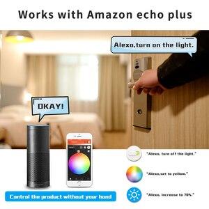 Image 4 - GLEDOPTO LED 6W RGB+CCT led bulb Zigbee smartLED bulb e26e27 AC100 240V WW/CW  rgb led bulb dimmable light dual white and color