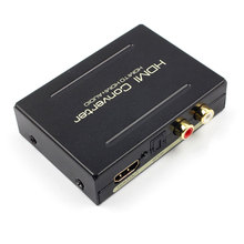 цена на HD 1080P HDMI Converter HDMI to HDMI Optical SPDIF RCA L/R Extractor Audio Splitter HDMI Adapter For HDTV Amplifier Stereo