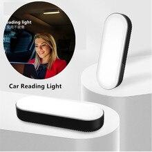 רכב סטיילינג לילה אור אוטומטי הוביל גג פנים כיפת קריאת אור מגע USB טעינת אווירה מנורת תא מטען מנורה